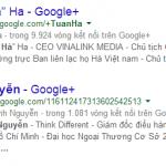 Chắc chắn Google Author sẽ tác động mạnh mẽ đến xếp hạng của website bạn!